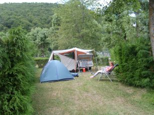 Centraal massief camping